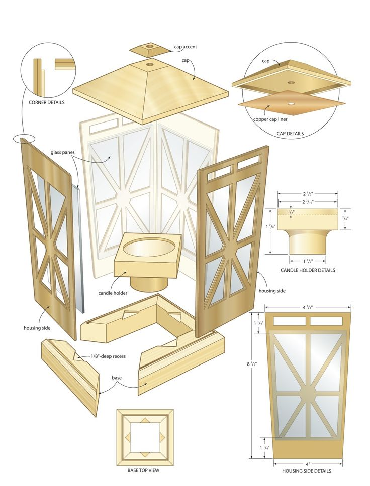 Woodworking Plans Candle Lantern If you really are ...