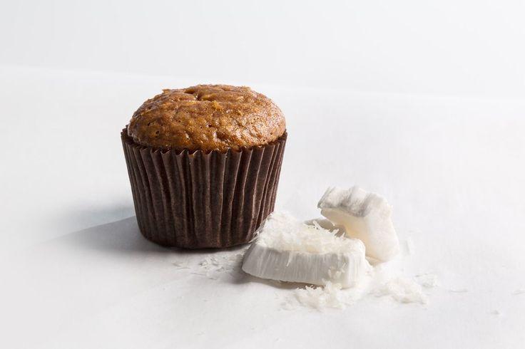 Coconut Protein Mini Muffins