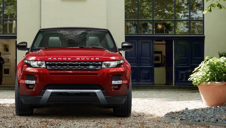 Range Rover Evoque - unique and personalized design (Vehicles shown are 2013 models)