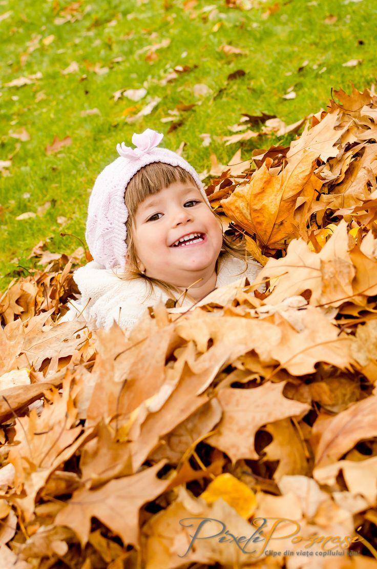 Fotografie copii toamna / Autumn children photography - Thea www.pixelipoznasi.ro