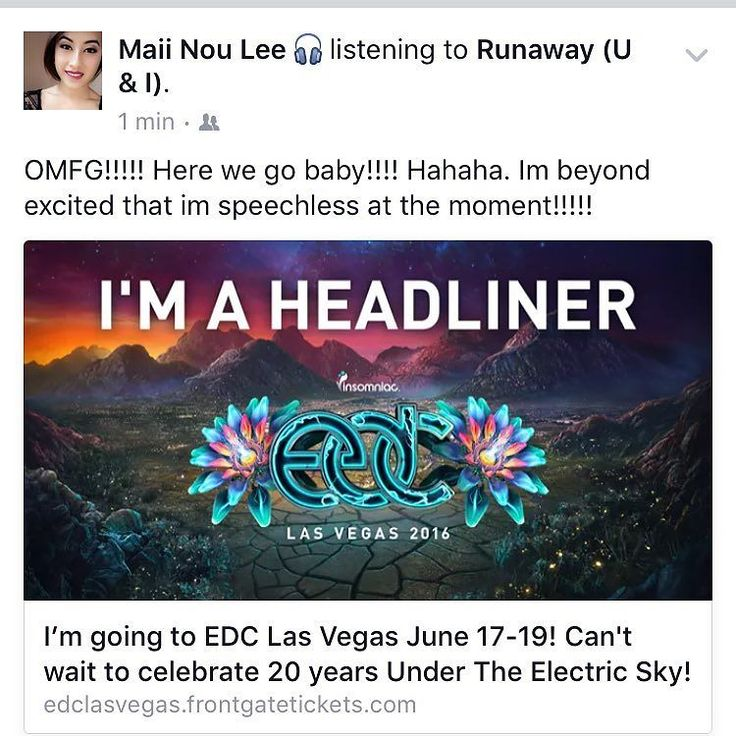 Just brought my ticket!!!!!! Tehehe. Can't wait till June baby!!!!! #edclv2016 #edm #rave #summer2016 #blessed #edmlife #edc #ticket #wordscantexplain #love by @itsmaiilyfe via http://ift.tt/1RAKbXL