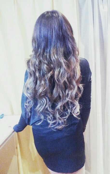 ombre♡ hair color extensions ヘアカラー グラデーション hitomi.y☆彡