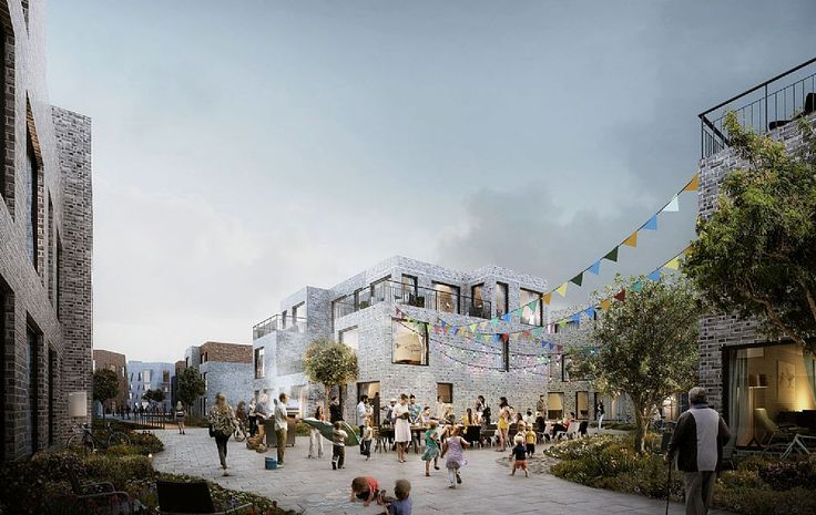 Amager Fælled Quarter urban & nature masterplan proposal by C.F. Møller Architects and Urban Agency