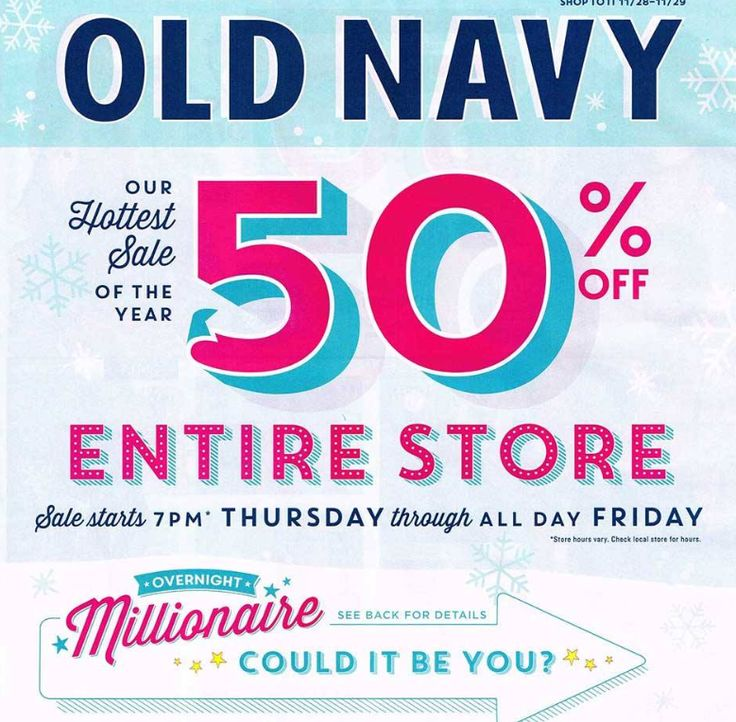 Is Old Navy open on the 4th of July? Looking for Old Navy 4th of July hours? Although savings are guaranteed when you shop online with the best offers below, be sure to verify with your nearby location for in-store savings/5(40).