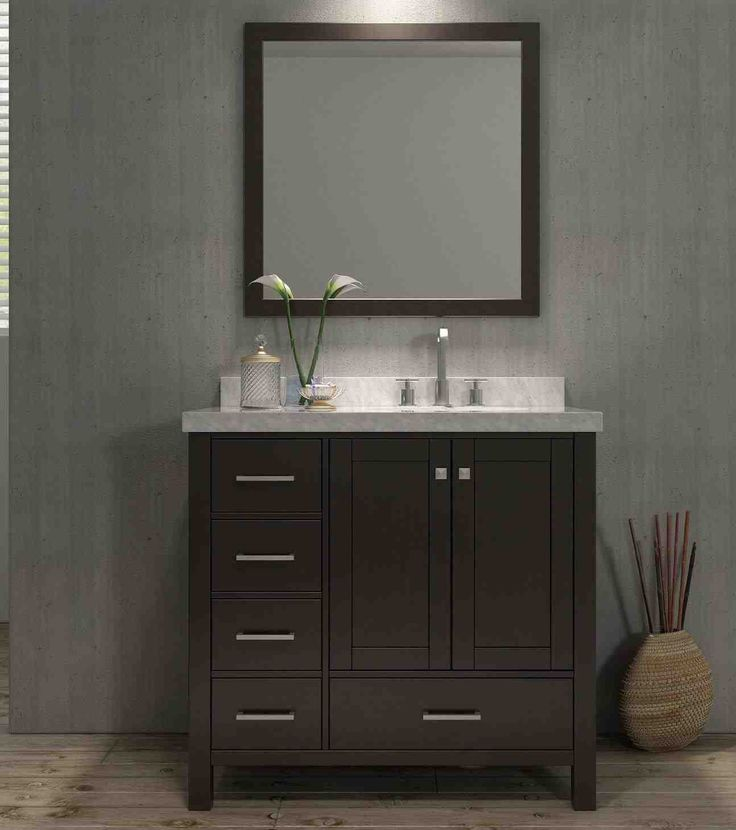 Best Vanity Ideas On Pinterest Cream Bathroom Interior - Home depot bathroom cabinets in stock for bathroom decor ideas