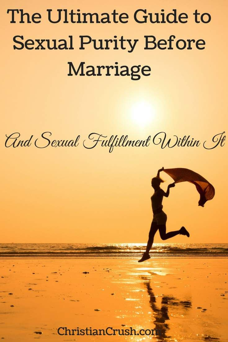 The ultimate guide to sexual purity for Christian singles before marriage and fulfillment within it....read on!