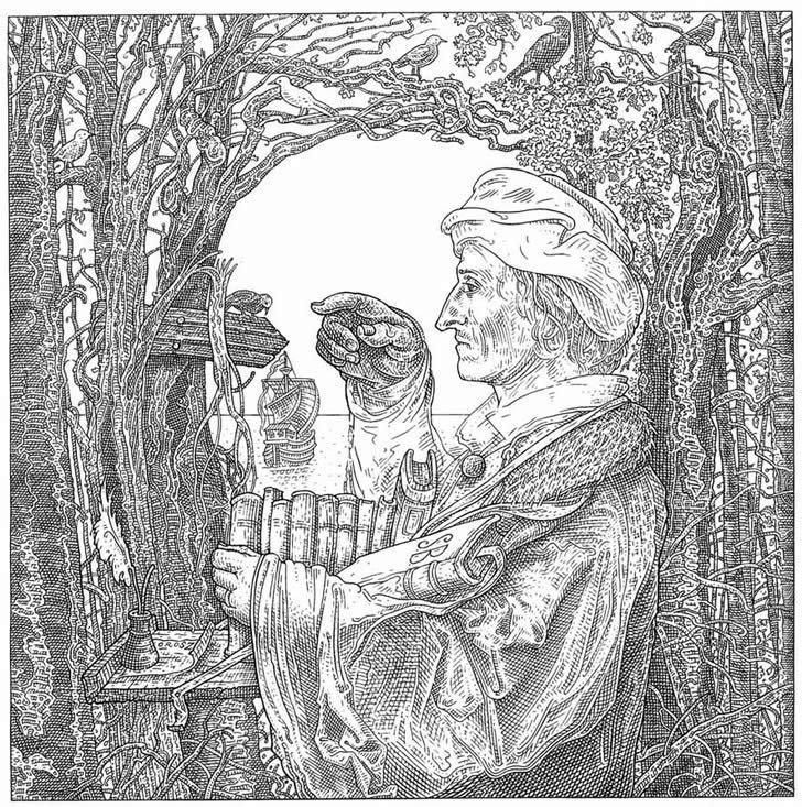 Ilustrações Medievais Subliminares, a Arte de Istvan Orosz