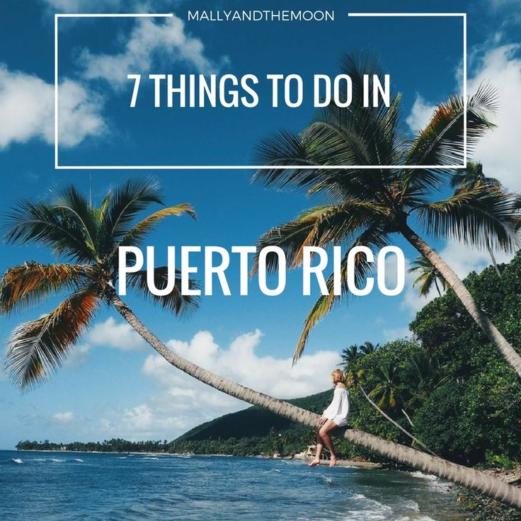 7 things to do in Puerto Rico! ☼