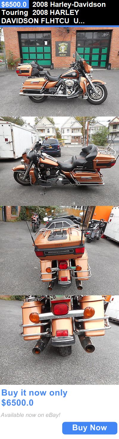 Motorcycles: 2008 Harley-Davidson Touring 2008 Harley Davidson Flhtcu Ultra Classic 105 Year Anniversary 96Cu 6 Speed BUY IT NOW ONLY: $6500.0