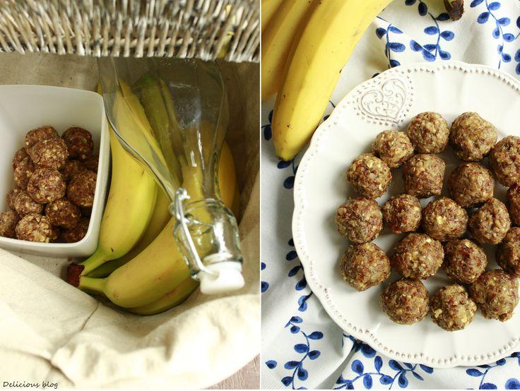 Delicious blog: Banánové kuličky