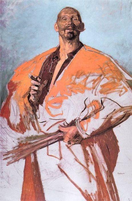 Portret Leona Wyczółkowskiego, 1895 Jacek Malczewski