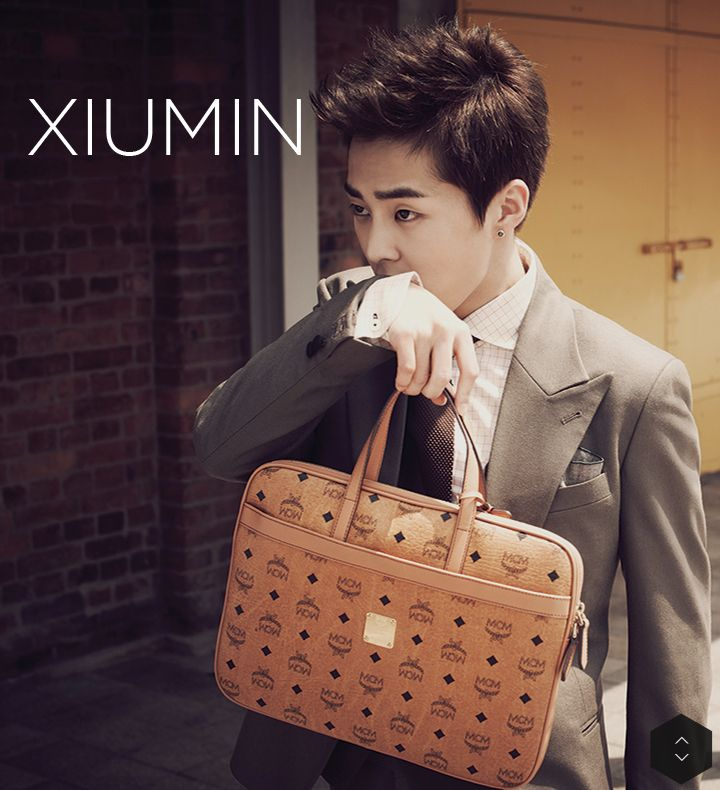 Xiumin - EXO MCM ... Never wanting to become a sleeve more than i hav today