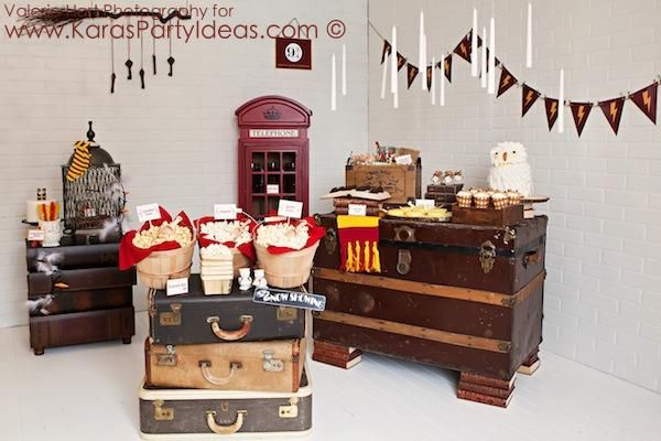 Harry potter party planning ideas cake decor supplies for Room decoration products