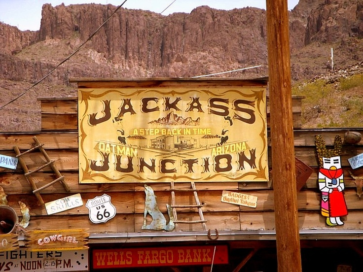 My Photos and Travels: Oatman, AZ on Route 66 ~ Places You have not heard of...