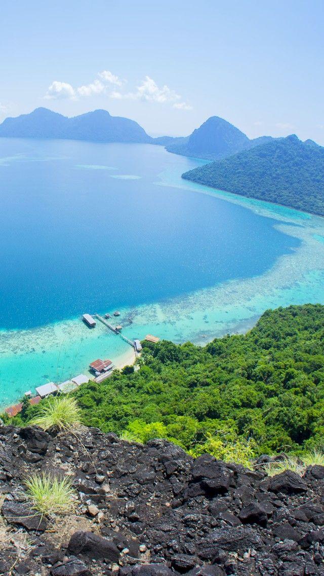 Bohey Dulang Island, Sabah, Malaysia