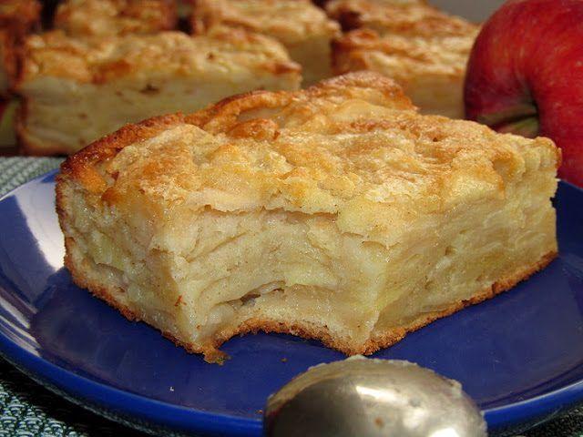 Нежный яблочный пирог / Едальня