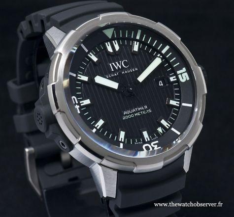 montre de plongée IWC Aquatimer Automatic 2000