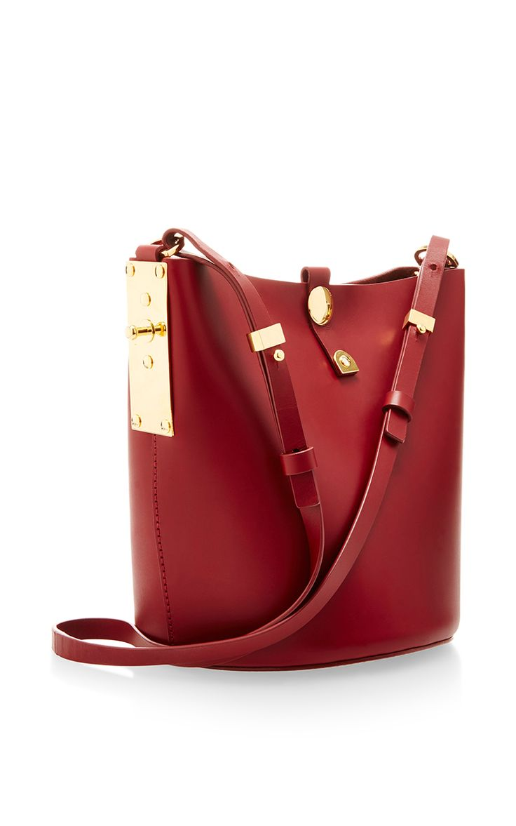 Alwyne Swing Bucket Bag by Sophie Hulme for Preorder on Moda Operandi