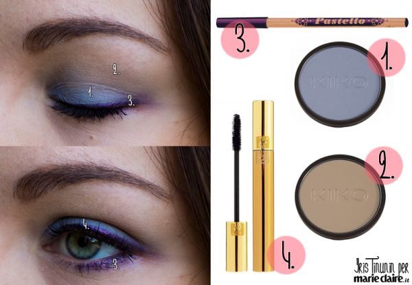 Makeup ispirato a una giacca floreale - MarieClaire