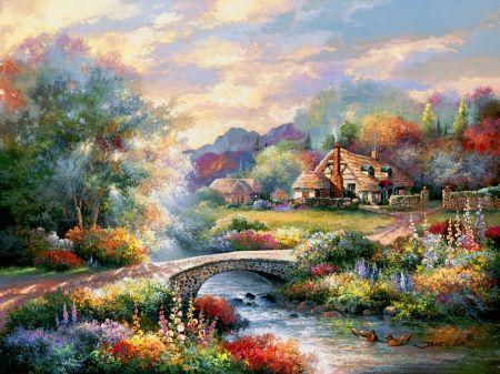 Country bridge - Other Wallpaper ID 1740393 - Desktop Nexus Abstract