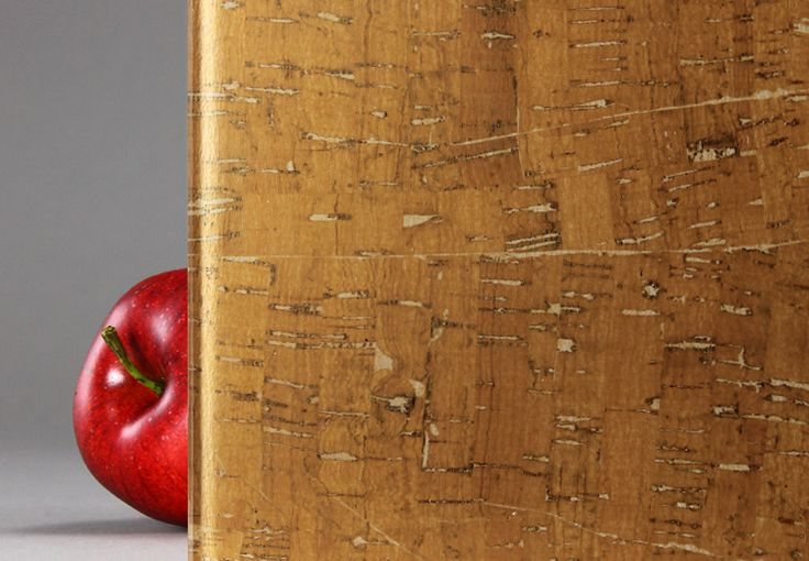 """""""Cork"""" is a decorative laminated glass, durable and maintenance-friendly, featuring a true wood veneer"""