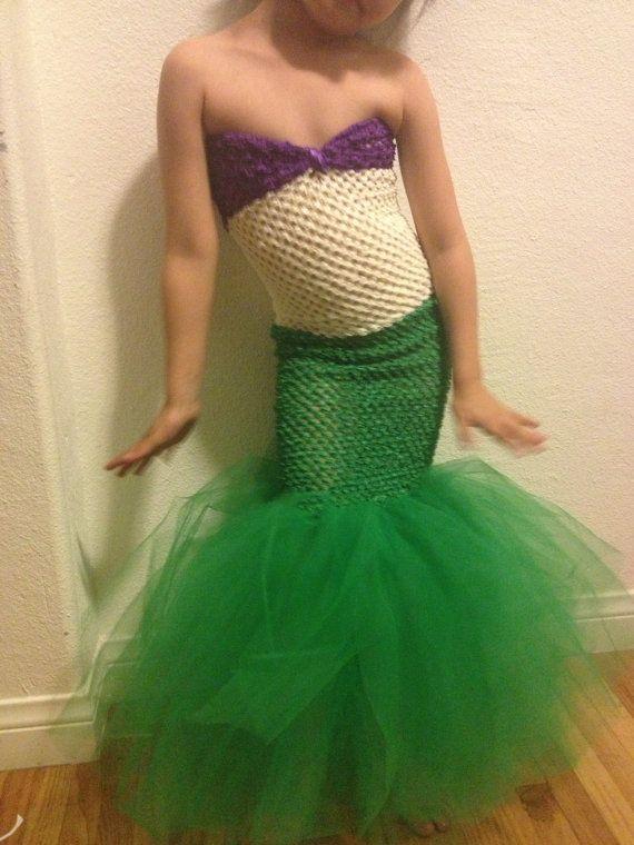 Little Mermaid Costume on Etsy, $35.00