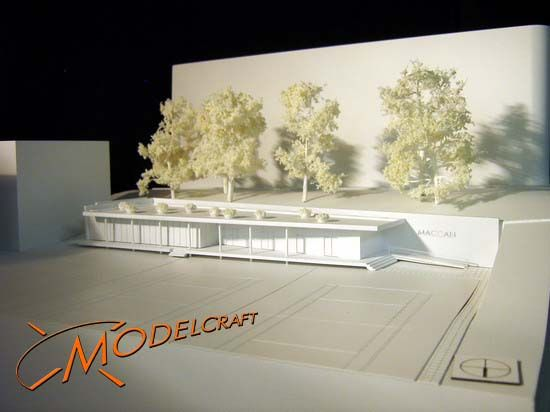1:200 White Architectural Model by Modelcraft (NSW) Pty Ltd