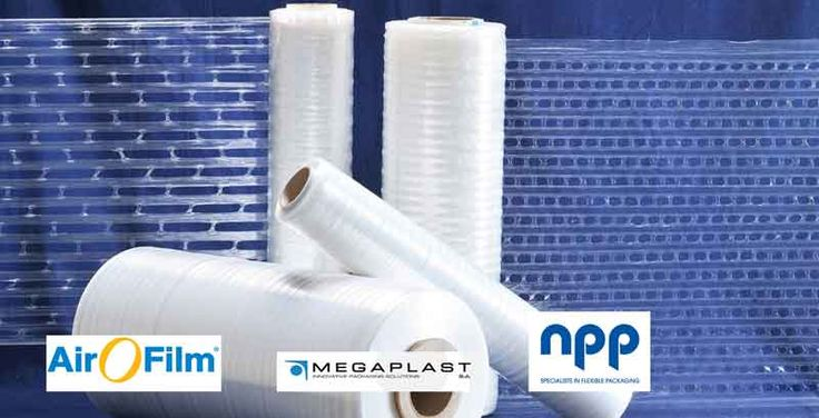 Air-O-Film® is a pre-stretched palletwrap, specially formulated film combining maximum elongation with performance, offering high tensile strength stretch wrap. This ventilated palletwrap design allows airflow through the pallet which reduces spoilage that conventional stretch film can cause, by preventing condensation build up on the inside of the standard palletwrap.  NPP is an official distributor in Ireland, call us today @ 018809299 or email sales@npp.ie