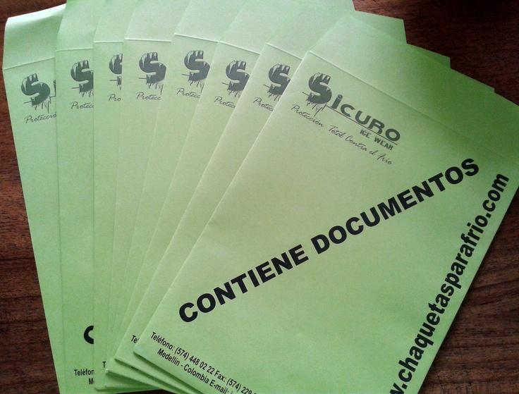 Sobre para Documentos