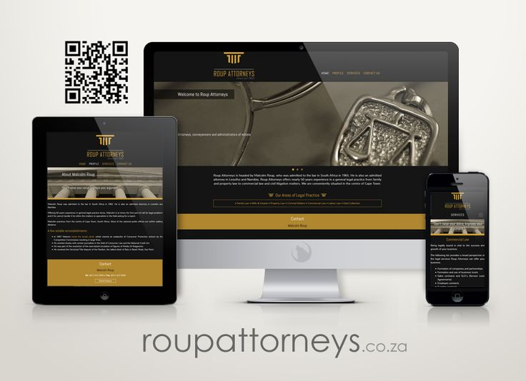 Check out the new logo and mobile friendly website we designed for Roup Attorneys http://www.RoupAttorneys.co.za #webdesign #portfolio #mobile #attorney