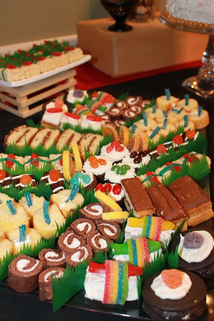 Asian inspired Birthday Party with candy sushi.