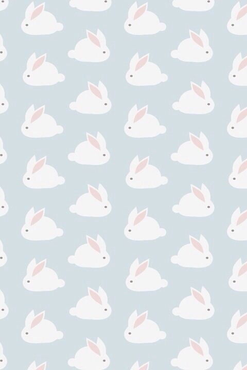 Bunny iPhone wallpaper | WALLPAPER | Motif, Motif ...