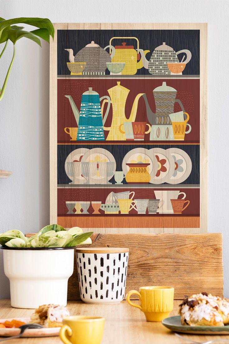 Luxus Holzbild Küche