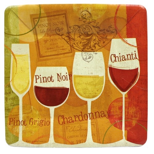 Wine Time 7 inch Square Paper Plates - Wine - Party Themes PlatesAndNapkins.com  sc 1 st  Pinterest & 16 best Celebrate For Less images on Pinterest | Discount party ...