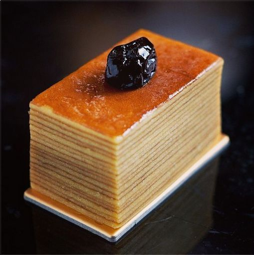 Indulge in layers of deliciousness with this #traditional kue lapis legit at Mandarin Oriental, Jakarta!