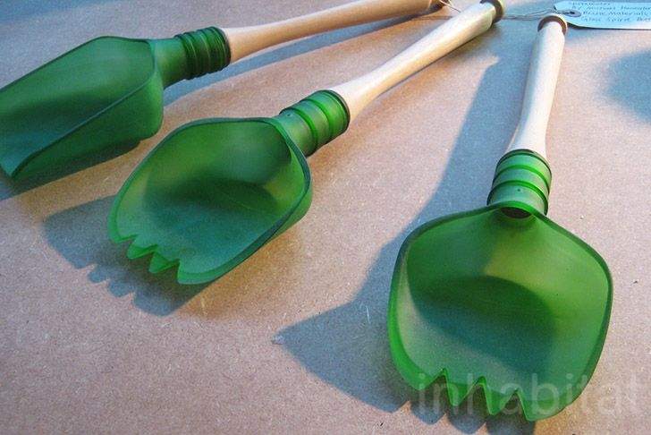 Michael Hannaford Crafts Unique Utensils From Recycled Glass B...