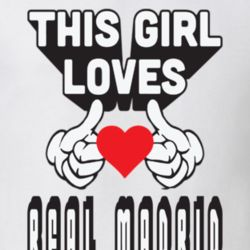 This Girl Loves Real Madrid 1 T Shirt