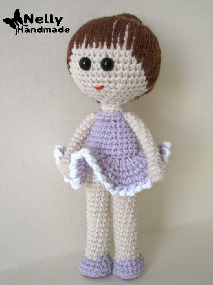 Free Russian Amigurumi Patterns In English : Doll Pupa Amigurumi - Free Russian Pattern here: http ...