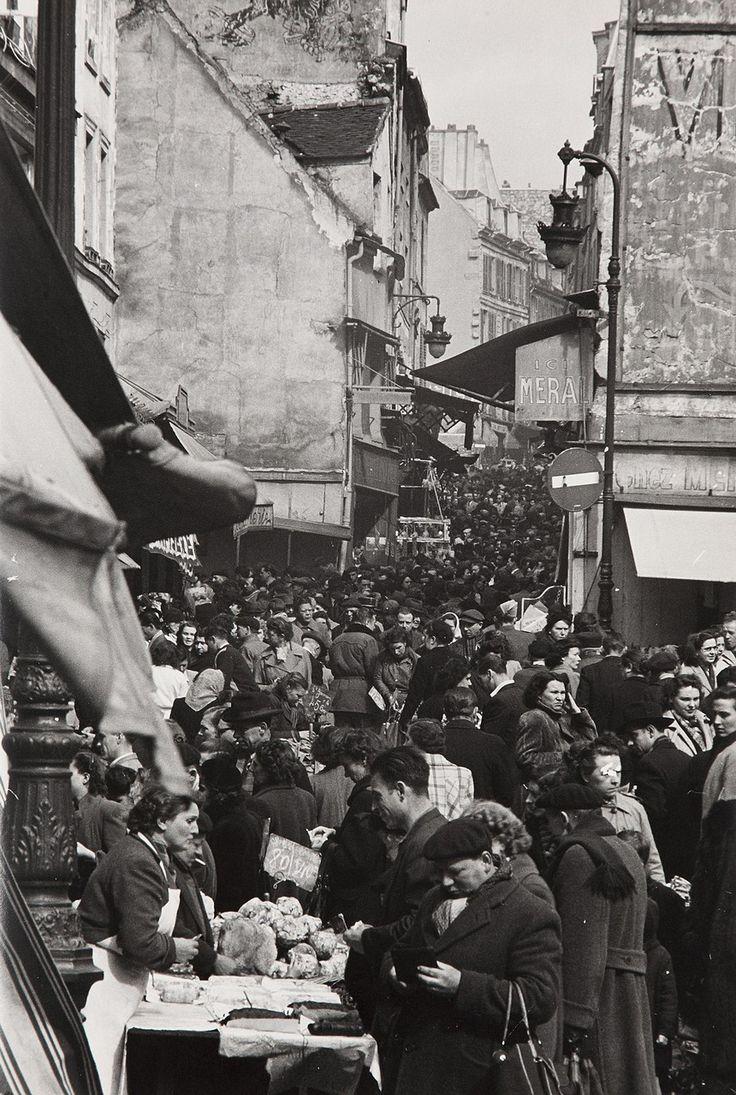 Rue Mouffetard,Paris, 1950-1952, Gordon Parks. (1912 - 2006)