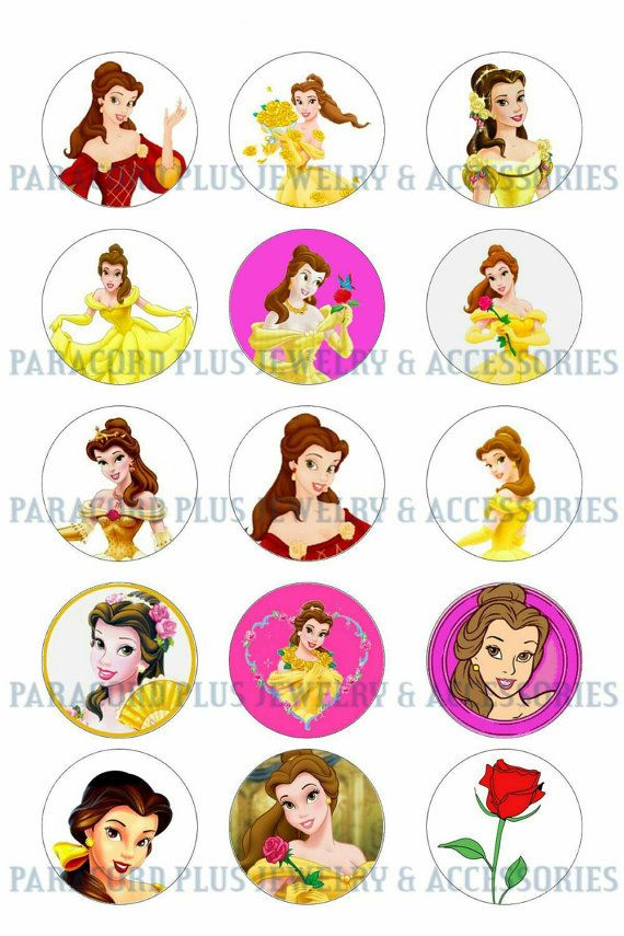 Check out this item in my Etsy shop https://www.etsy.com/ca/listing/241637809/princess-belle-1-bottlecap-circles