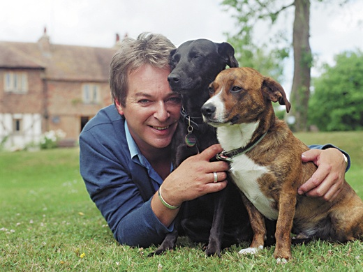 Julian Clary and dogs