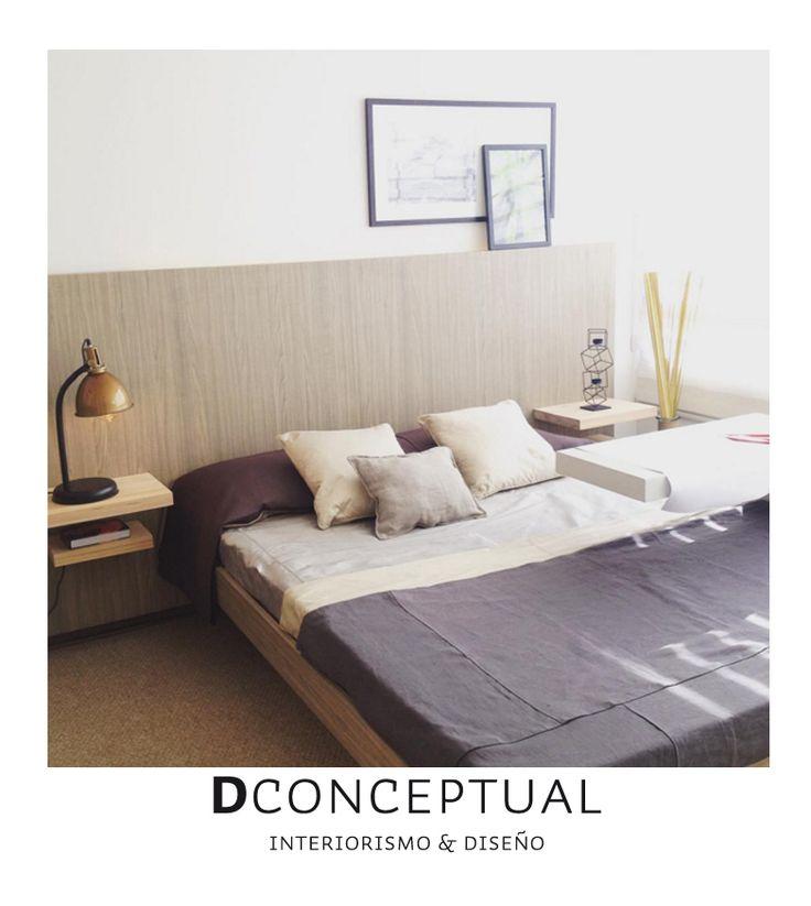 Dormitorio departamento Alto Rancagua