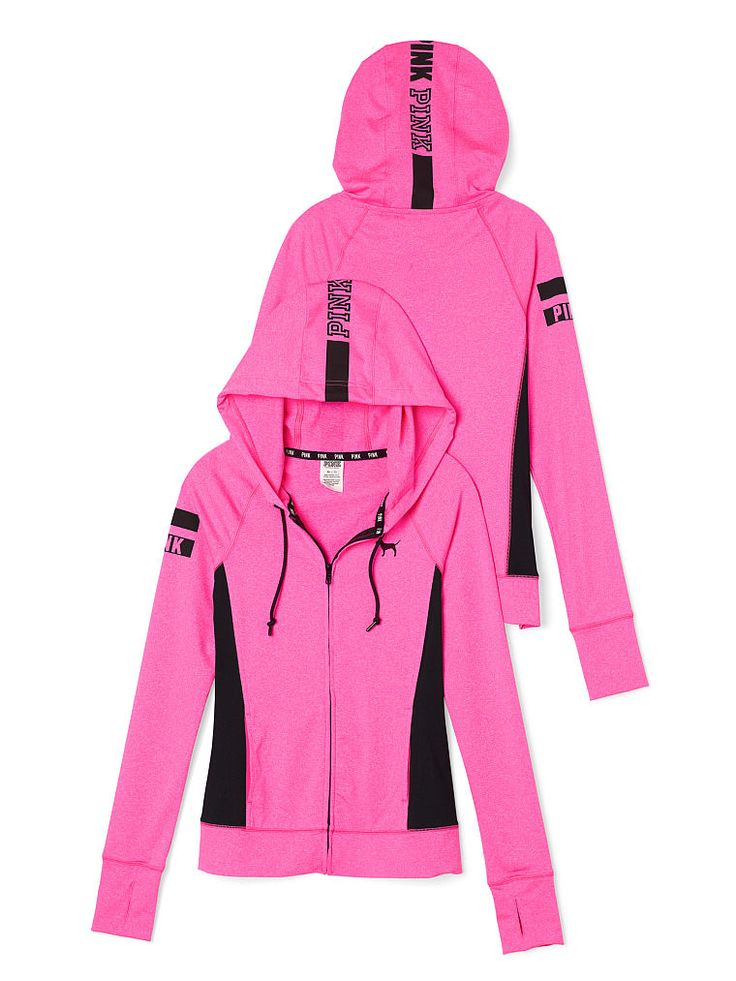 Ultimate Full-Zip Hoodie - PINK - Victoria's Secret | Shoes and ...