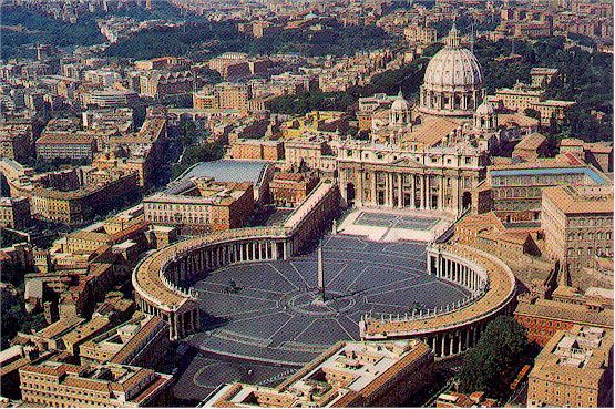 We saw the Vatican, St. Peters and The Cistine Chapel...they were awesome ..