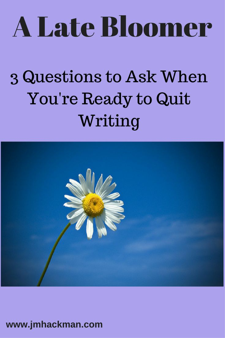 Tired and frustrated with your writing career? 3 important questions to ask...