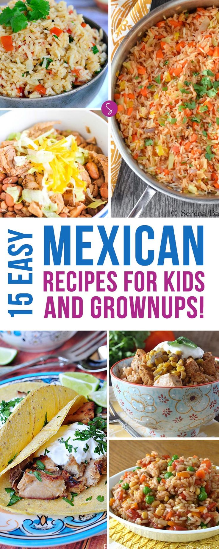 These easy Mexican recipes are perfect for kid friendly family meals because everyone can get stuck in and enjoy the food together.