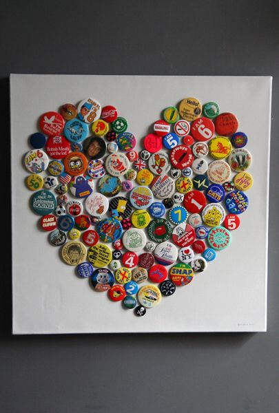 I collect pins to places I do so instead of putting on a pillow- this idea is great for displaying it..could even do magnets..
