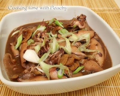 how to clean squid for adobo