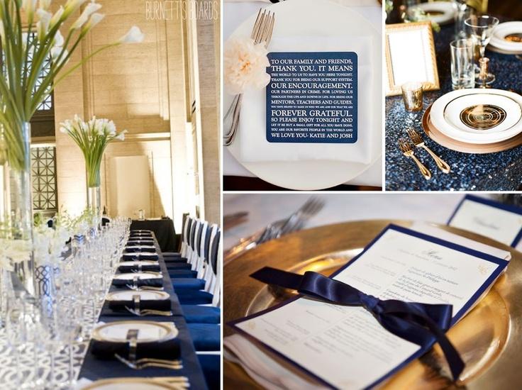Ideas para una boda en azul Mónaco, vía http://on.fb.me/YzJqGM