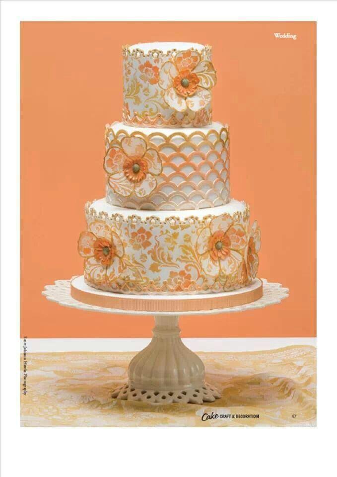 Alexandra kerry wedding cakes